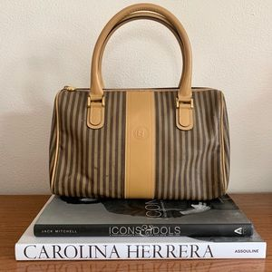 FENDI Classic Striped Handbag ❤️
